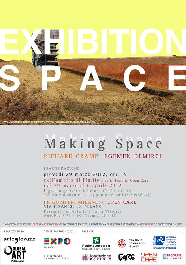 GAP   Richard Cramp & Egemen Demirci Making space