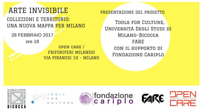 Arte Invisibile. Collezioni e territorio : una nuova mappa per Milano