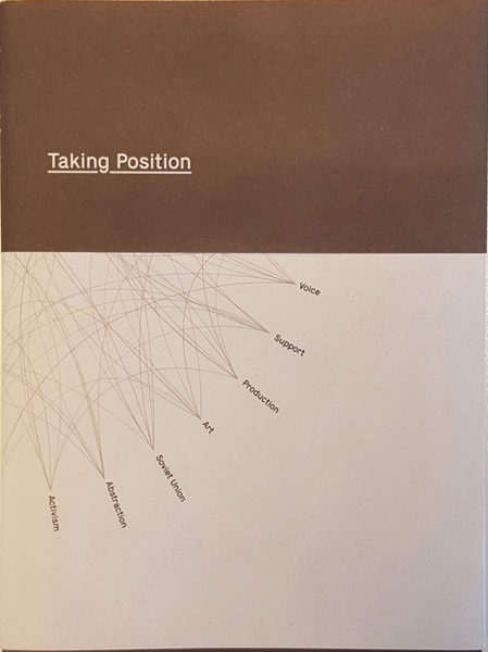 PUBLICATION – TAKING POSITION