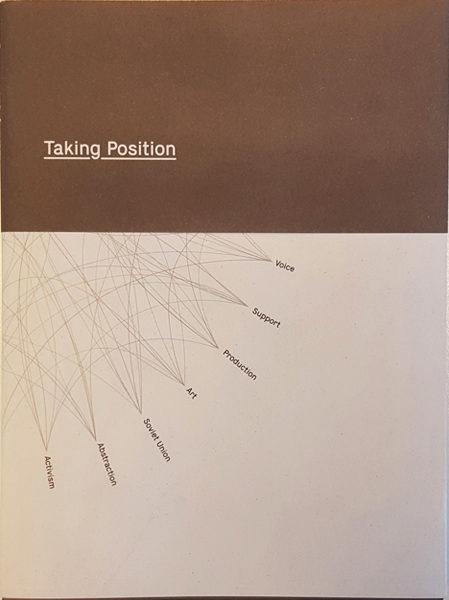 PUBBLICAZIONE – TAKING POSITION