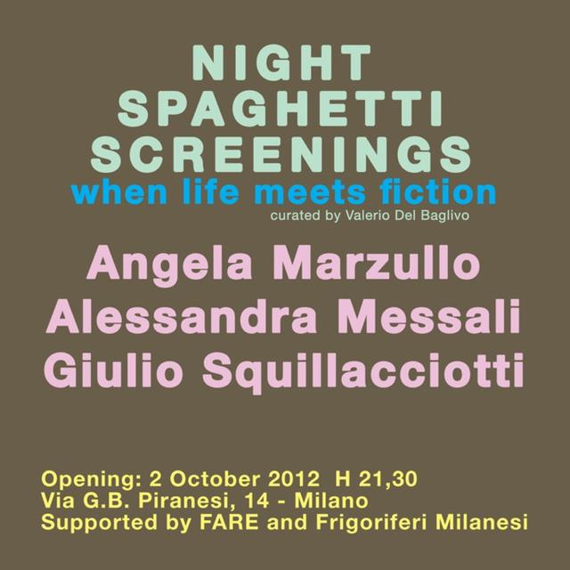 NIGHT SPAGHETTI SCREENINGS