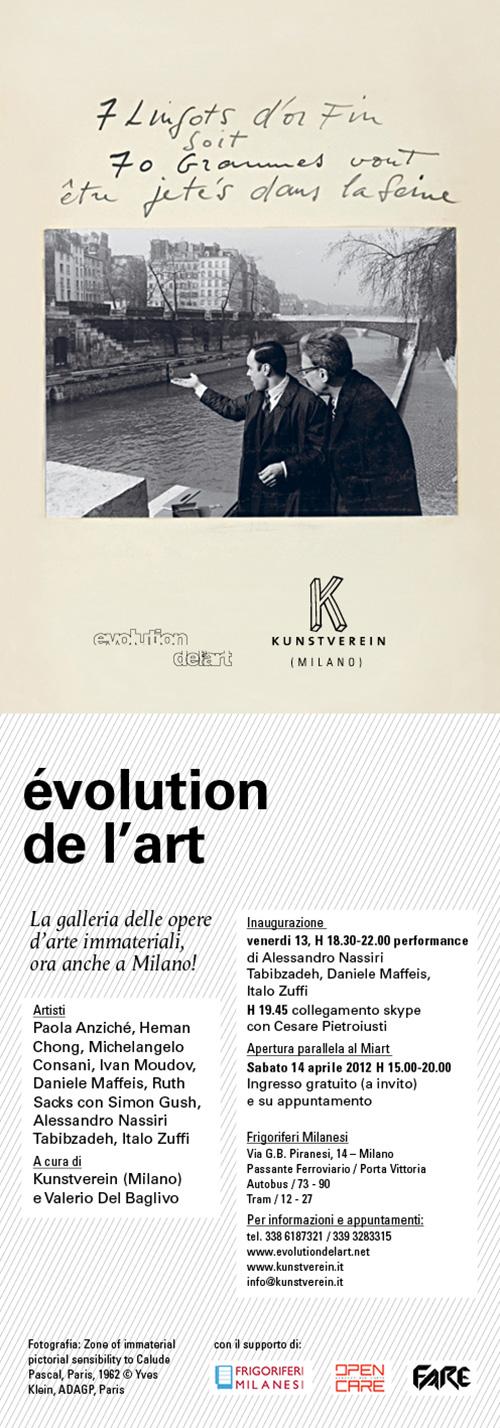 KUNSTVEREIN | ÉVOLUTION DE L'ART