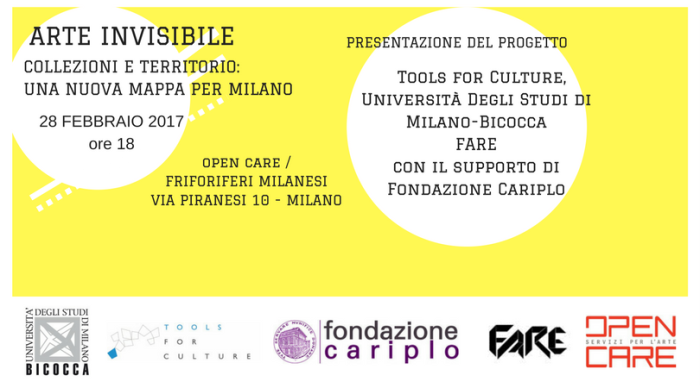 INVISIBLE ART. LOCAL COLLECTIONS AND A NEW MAP FOR MILAN