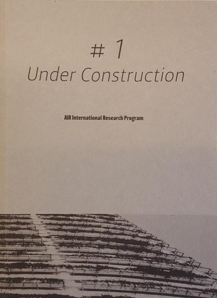 RESIDENZA | UNDER CONSTRUCTION – PUBBLICAZIONE