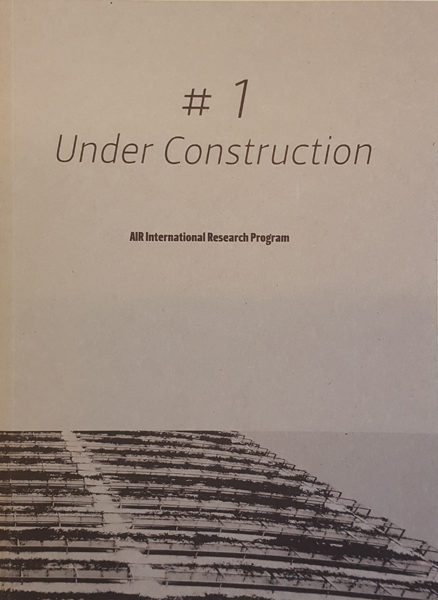 RESIDENCE | UNDER CONSTRUCTION – PUBLICATION